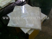 White Onyx Tiles. Hanam Marble Industries