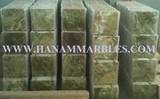 Dark Green Onyx Tiles. Hanam Marble Industries