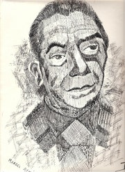 Portrait de Marcel Aymé.