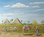 Egypte - Les Pyramides.