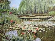 L'étang aux nymphéas / The lily pond.