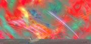 La terre accueillit avec un chatoiement de couleurs ces nouveaux venus.