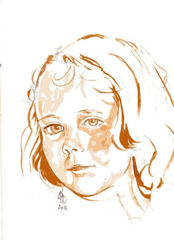 Ysalys 5 ans. Amdv Anne-Marie Vandorpe Deligne