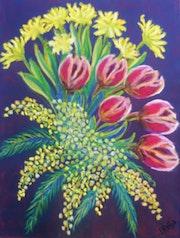 Composition florale.