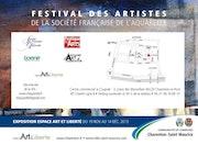 Exposition de La Société Française de l'Aquarelle.