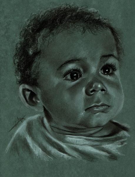 Portrait jeune enfant 231113. Philippe Flohic Philippe Flohic