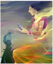 Mobile life. Ram Singh Bhati