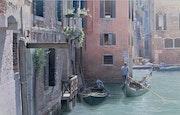 Un balcon sur Venise.