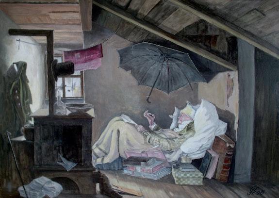 Kopie «Der arme Poet». Günther Hofmann Hofmannsart
