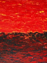 River of Molten Rock - by Roberto Edmanson-Harrison.