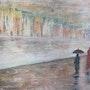 Jour de pluie. Eva