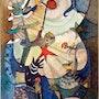 » Mondanzünder» - Hommage à Miro. Rosemarie Bühler