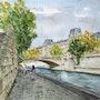 Quai de Seine Paris. Christian Mura