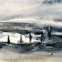 Soir d'hiver. Christian Mura