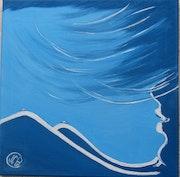 Les monts bleu de mes rêves.
