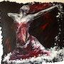 Le plongeon en rouge. Véronique M. Bonnand Vmb