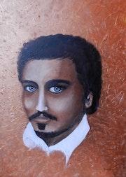 Portrait cuivré.