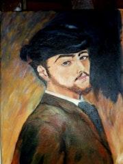 Autoportrait de Renoir. Nicoleb