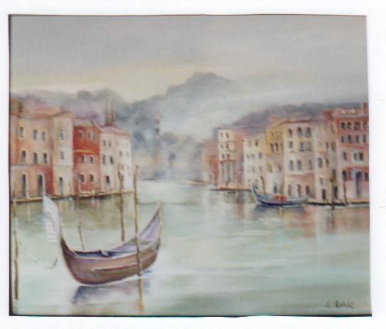 Le grand canal de Venise. Roblo Roblo