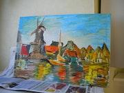 Paysage hollandais.