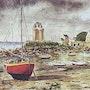Port Solidor- Saint Malo. Gérard Pichet