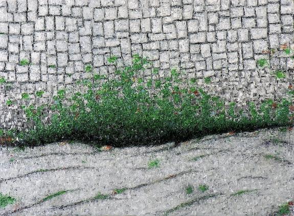 Vert sur gris. Claude Guillemet Claude Guillemet