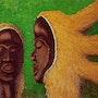 Têtes Koranko de Sierra Leone. Claude Guillemet