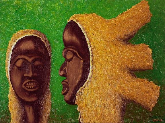 Têtes Koranko de Sierra Leone. Claude Guillemet Claude Guillemet