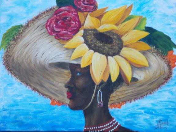 Fleurs des Caraïbes. Madame Pierrette Ricaud P. Ricaud