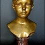 Buste de jeune fille. Marc Menzoyan Antiquités