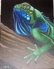 L'Iguane à Jim.