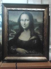 Mona lisa. Damián Fernández Marquina