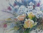 Les trois roses jaunes.