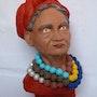 Vieille femme guatémaltèque. Cria