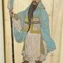 Guan Yu guerrier chinois. Michel Pernin