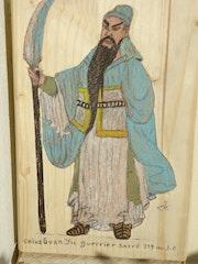 Guan Yu guerrier chinois.
