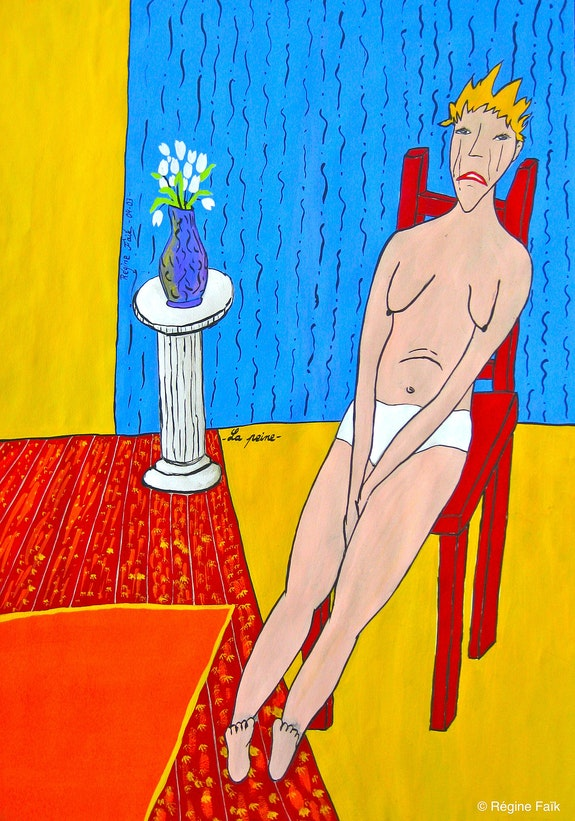 «La peine». Régine Faïk Régine Faïk