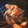 Körbchen mit Süßkartoffeln. Simone Wilhelms