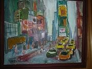 Time«square à new-york. Gerard Petit