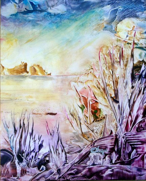 Paysage de la Savane. Christiane Fages Christiane Fages - Gramont