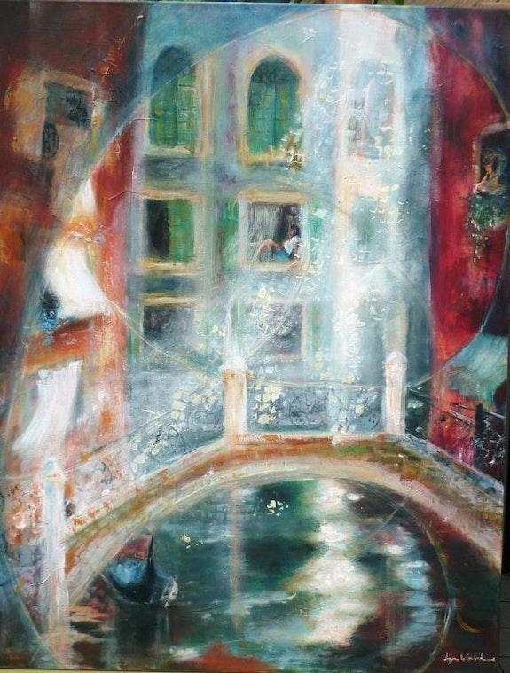 Venise-Dolce vita. Lyne Le Grand Lyne Le Grand