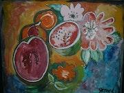 Fruits exotiques.