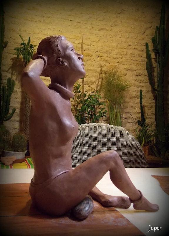 La Naïade L'inconnue «Presque Nue» - Détail profil. Joper Joper