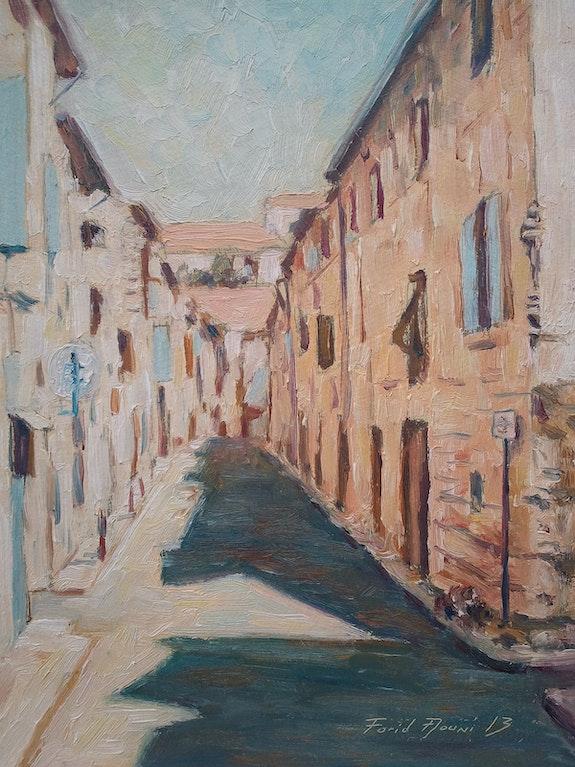 Street of Tarascon, south of France.. Farid Aouni F Aouni