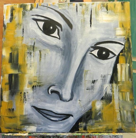 Portrait de femme. Suzie Rodz Suzie Rodz