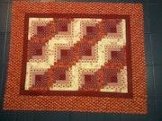 Manta- gato- en -patchwork. M. Pilar