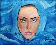 Mujer del Sinai. Les femmes du Sinaï.