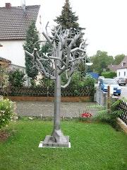 Tree of Stainless Steel - Baum aus Edelstahl - Springbrunnen. Gert Kunz