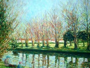 The fishing lesson, Hythe canal.. F Aouni