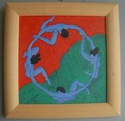 Round based on H. Matisse.